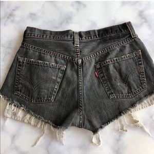 LF Furst of a Kind Redone Levi's Denim Shorts